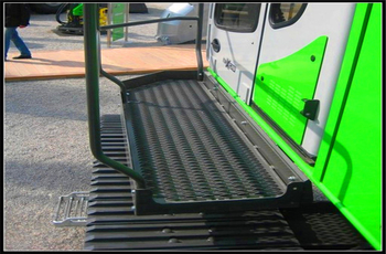 Anti Slip Panel Application&Case